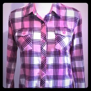 VANS Women's Flanell shirt -fitted in pink